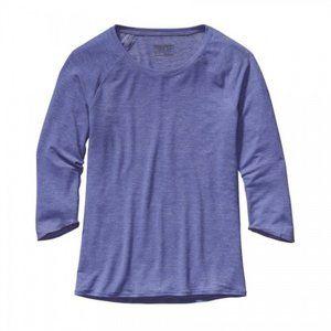 Patagonia Women's Glorya 3/4-sleeved Top - NWOT